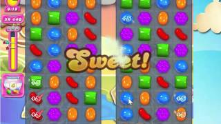 Candy Crush Saga Level 1554 with 3 stars  NO BOOSTERS!