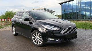 2017 Ford Focus Turnier 1.5 TDCi (120 HP) TEST DRIVE