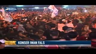 Konser Iwan Fals di Monas Diwarnai Bentrokan