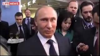бухой Путин