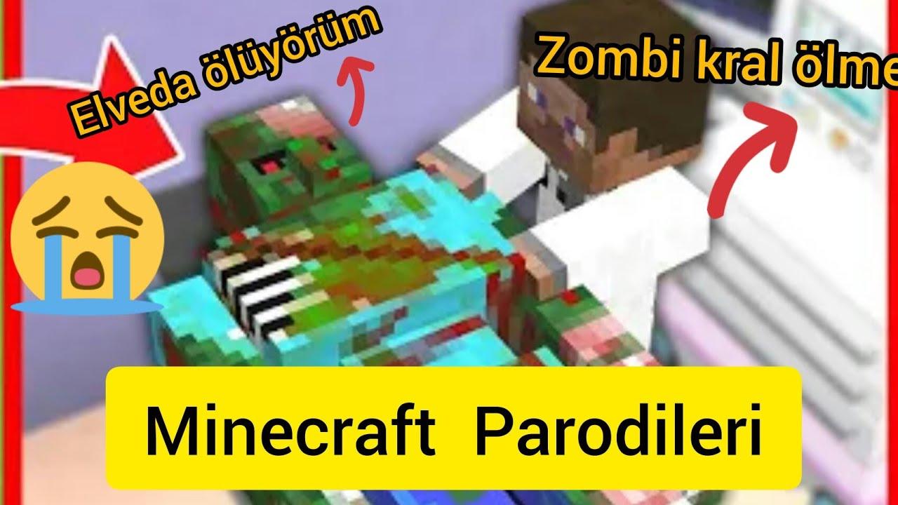 HANZO FAKİR ZOMBİYİ ÖLDÜRDÜ, ZOMBİ KRAL İNTİKAM ALMAYA GİDİYOR! 😱 - Minecraft