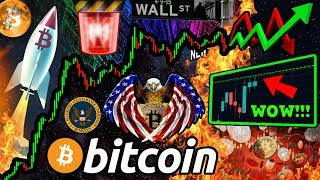 BITCOIN CRITICAL MOVE! WALL STREET Goes $BTC CRAZY!! USA & Australia BULLISH NEWS