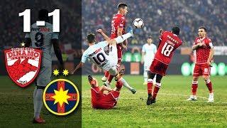 Rezumat: Dinamo Bucuresti - FCSB 1-1 (1-0)