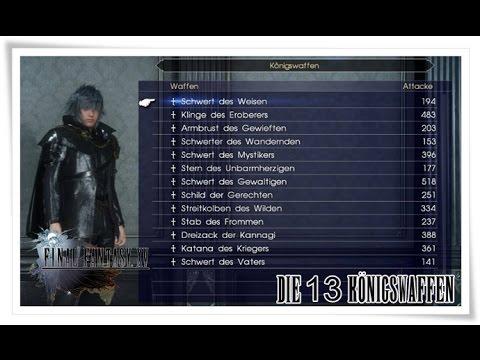 Final Fantasy 15 Königswaffen