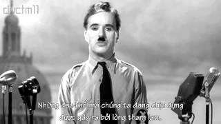 The Greatest Speech- Bài diễn thuyết hay nhất từ Charlie Chaplin gửi tới nhân loại