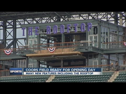 Coors Field ready for opening day