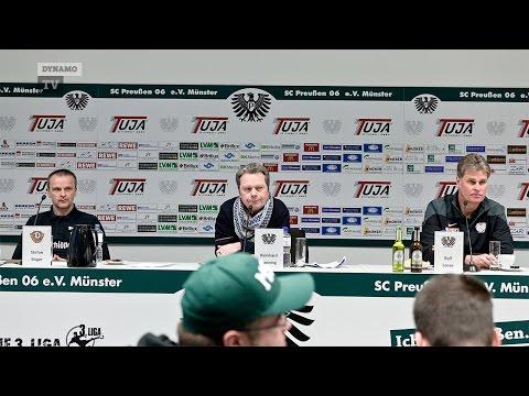 23. Spieltag | SCP - SGD | Pressekonferenz nach dem Spiel