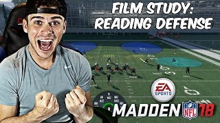FILM STUDY WITH SAVAGE! HOW TO READ DEFENSES! | MADDEN 18 TIPS AND TRICKS