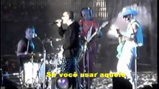 U2 If You Wear That Velvet Dress (legendado em Português - Brasil)Popmart 98 HQ