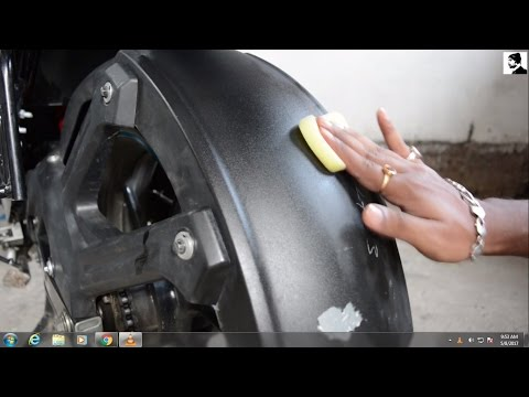 Shine your Bike like new || Motomax Dashboard Polish || Yamaha FZ-S V2.0