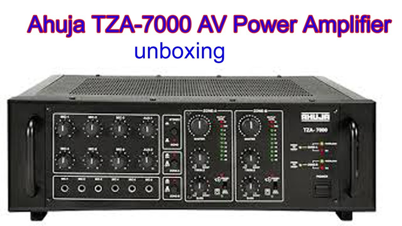 Ahuja TZA-7000 AV Power Amplifier