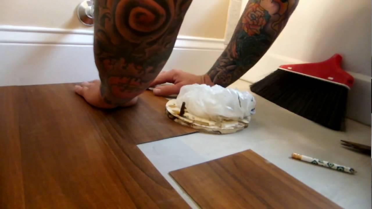 How To Cut Vinyl Plank Flooring Straight