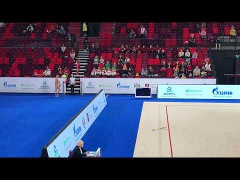 Чемпионат России 2019, Арисова Алина, булавы