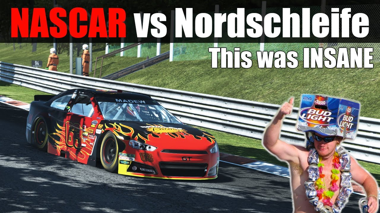 rFactor 2: How Fast Can a NASCAR Lap The Nordschleife?