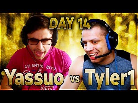 Tyler1 HUGE Play | YASSUO VS TYLER1 - $10K BET: DAY 14