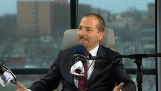 "Host of MSNBC's ""Meet the Press Daily"" Chuck Todd Talks NFL & More in Studio - 1/19/17"
