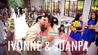 Arte Eventos - Matrimonio Ivonne y Juan Pa