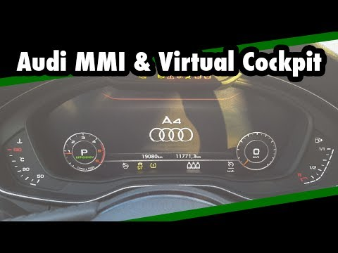 Multimedia Test/Review 2015 Audi A4 - Audi MMI Navigation Plus & Audi Virtual Cockpit //JJsGarage