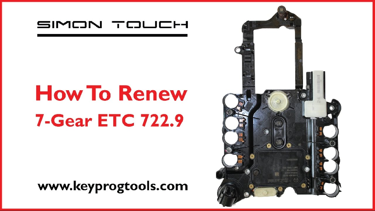 How to renew 7Gear ETC722 9 by Simon Touch Key Programmer