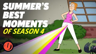 Rick And Morty: Summer's Best Moments Of Season 4