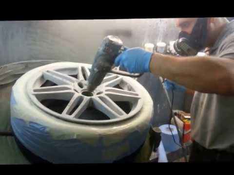 Alloy Wheel Repair Refurbishment Northampton. Smart Alloy Northamptonshire.