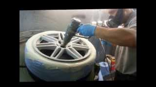 Alloy Wheel Repair Refurbishment Northampton. Smart Alloy Northamptonshire.