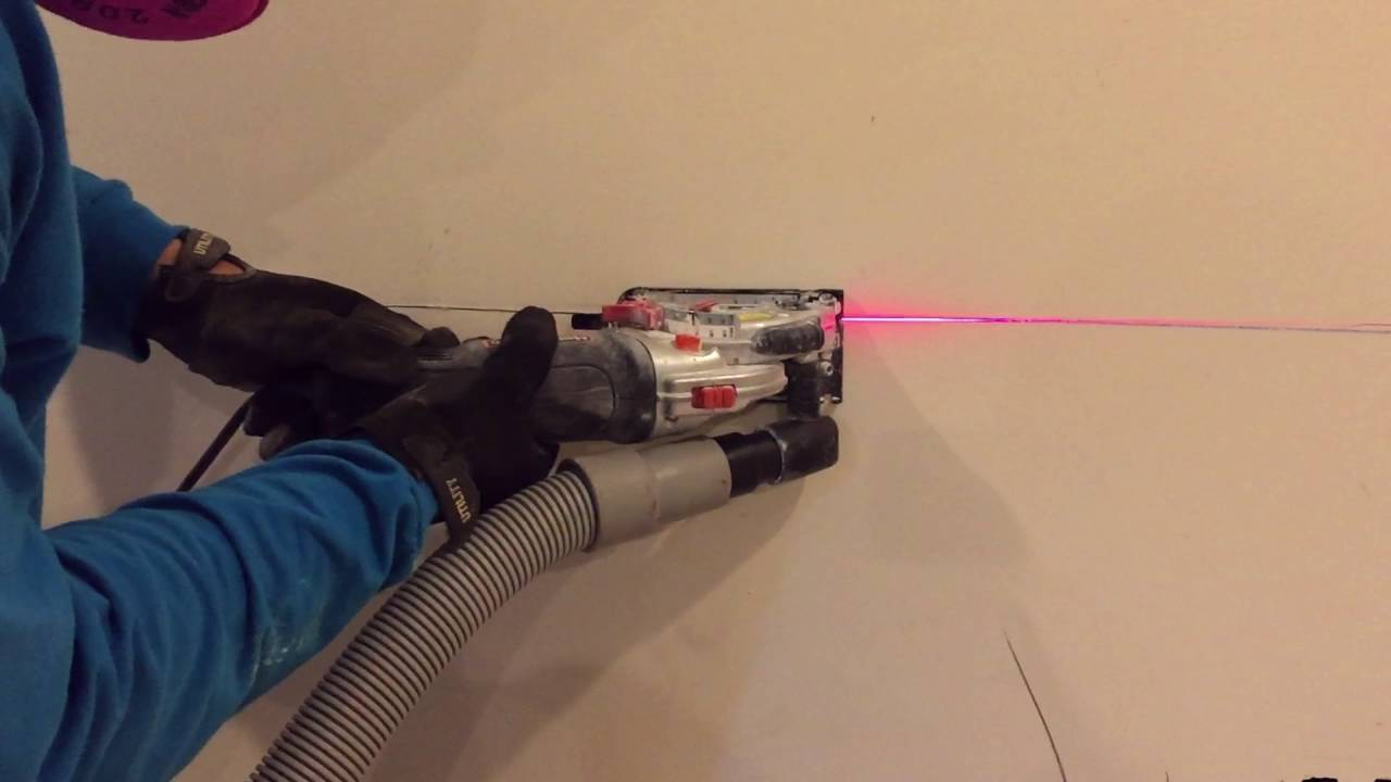 Drywall Cut With A Hepa Vacuum