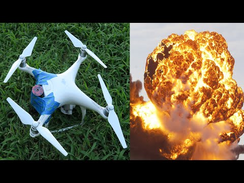 I MADE A DRONE BOMB! (GONE WRONG)