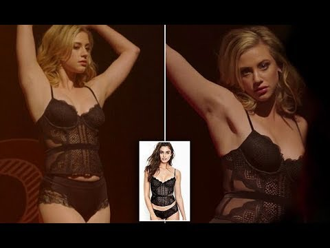 Fans compare Lili Reinhart's body to a lingerie model's