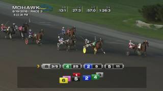 Mohawk, Sbred, Aug. 19, 2016 Race 3