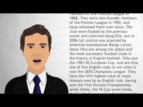 Aston Villa F C - Wiki Videos