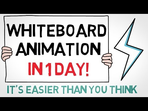How to Create a Whiteboard Animation in ONE DAY from YouTube · Duration:  8 minutes 44 seconds