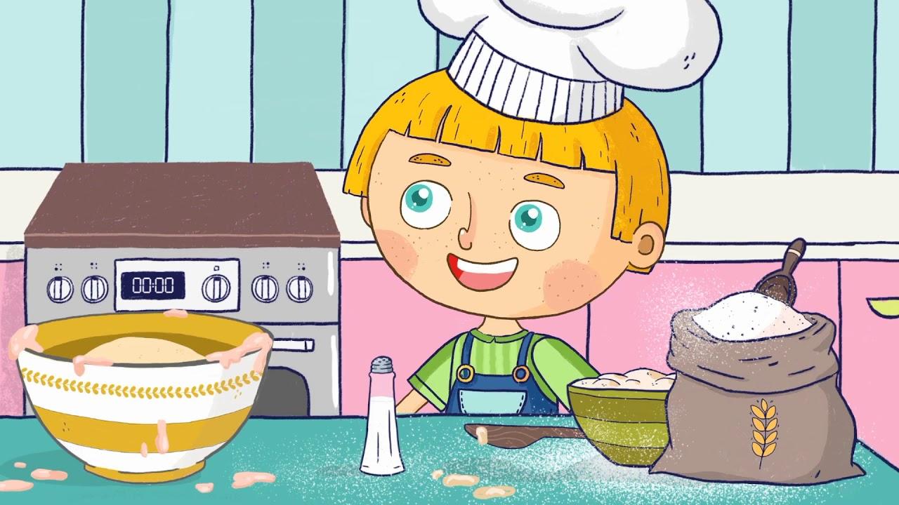 Backe Backe Kuchen Kinderlieder Kinderwelt Tv Youtube