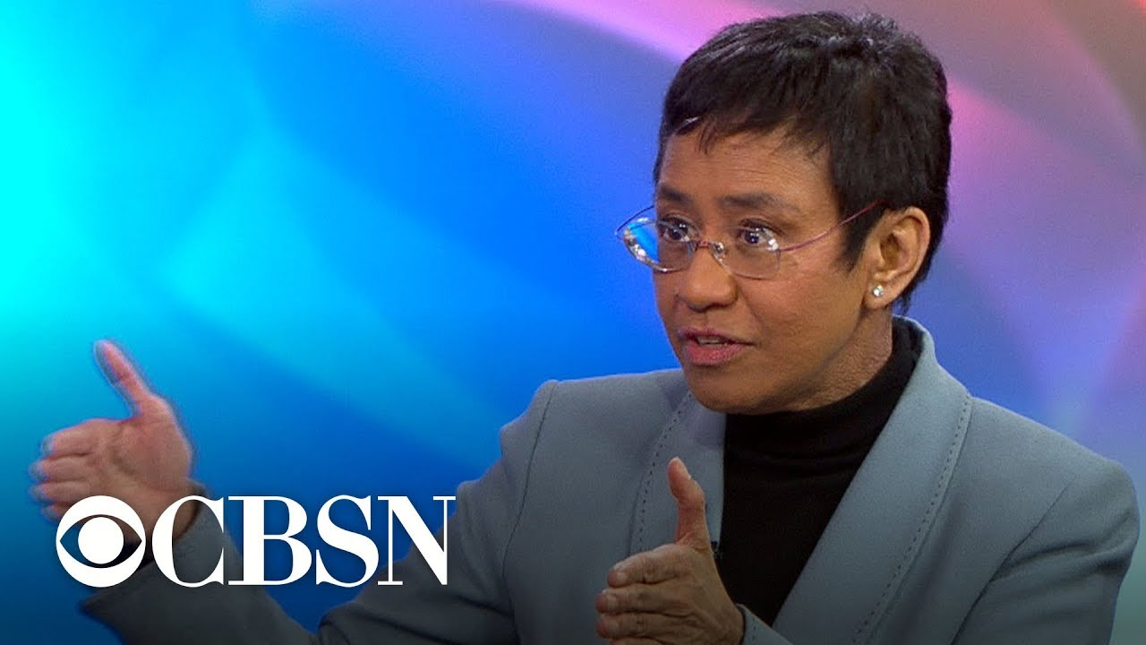 Rappler CEO Maria Ressa on battling disinformation on social media