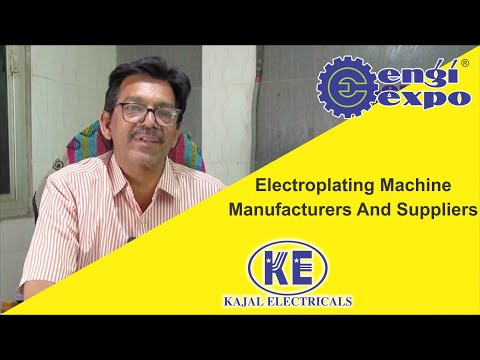 Electroplating Machine For Gold, Silver, Rhodium, Nickel | Manufacturers And Suppliers