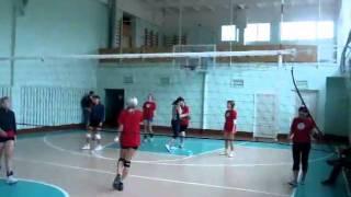 женское открытие 2010 по волейболу в Луховицах