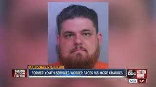 Polk County youth counselor arrested for child porn gets 165 additional charges added