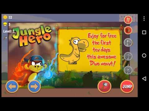 Jungle Hero - Advanture Android Game