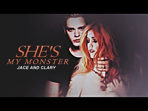 She is my monster | Jace + dark!Clary