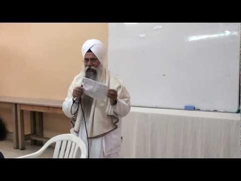 Giani Gurdev Singh - Sikhi Camp Malaysia (Talk 1 AM)