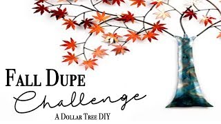 Fall Dupe Challenge ~ Hosted by Kenya's Decor Corner & Eclectic Kristen