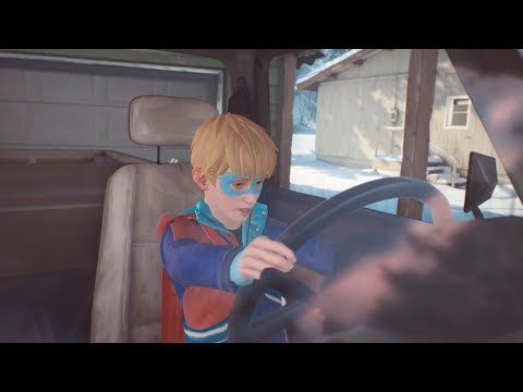 The Awesome Adventures of Captain Spirit - Car key location and Mantroid encounter.