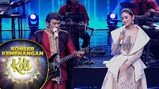Download lagu DUET MAUT !!! Bang Haji Rhoma Irama dan Gita KDI [SUARA GENDANG]  - Konser Kemenangan KDI 2020