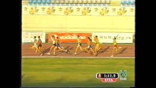 Antonio Reina Cto  España Almería final 800 m l