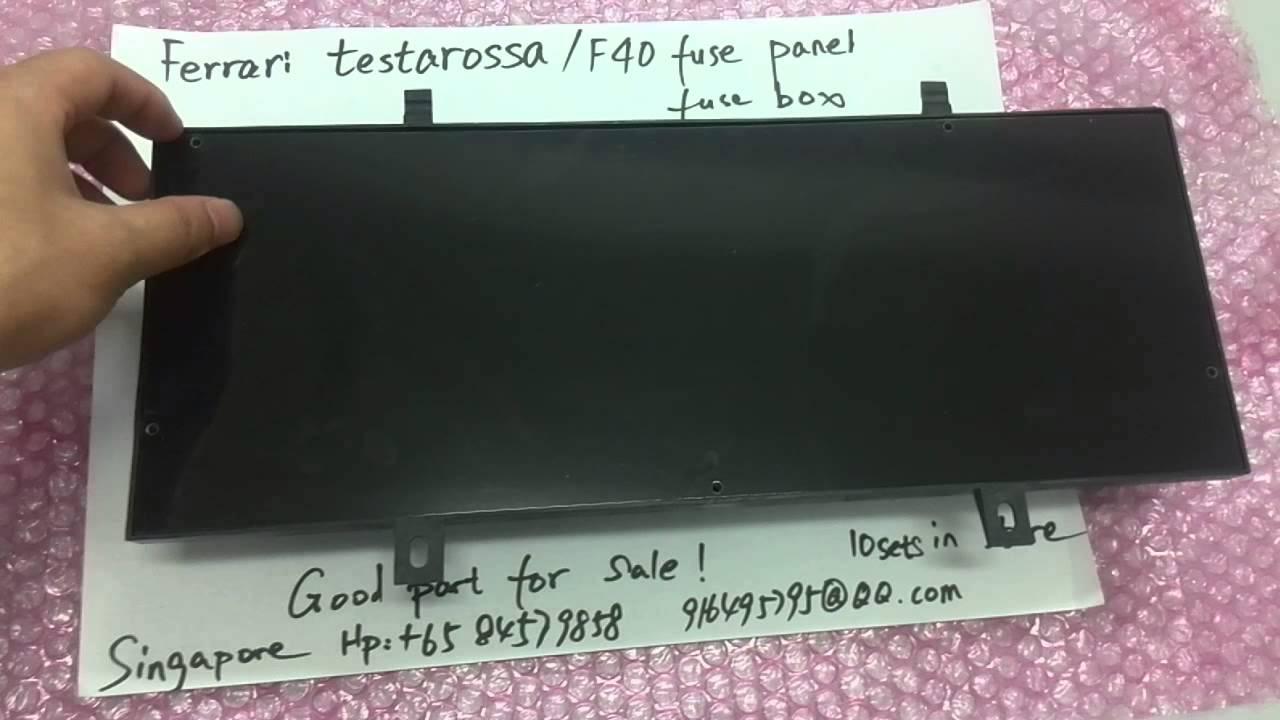 small resolution of ferrari fuse box