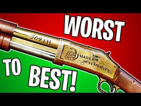 RANKING EVERY SHOTGUN IN BF1 FROM WORST TO BEST!   Battlefield 1