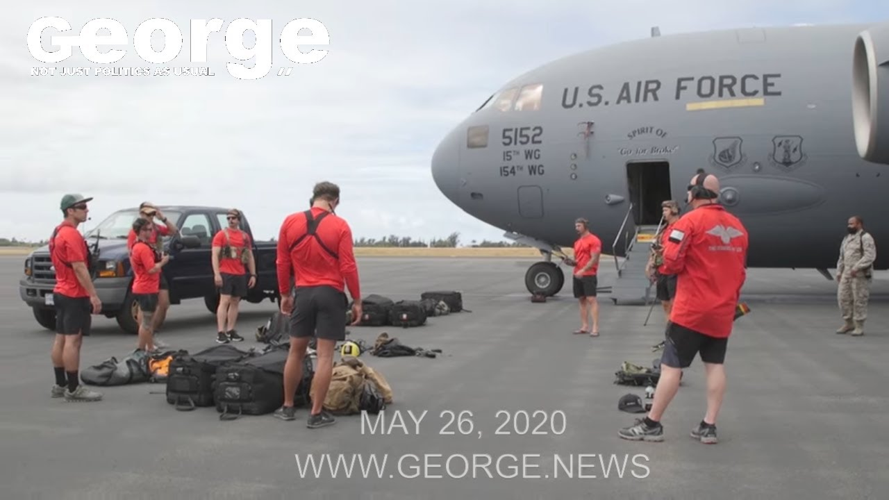 SpaceX NASA and the 204th Airlift Squadron, May 26th, 2020