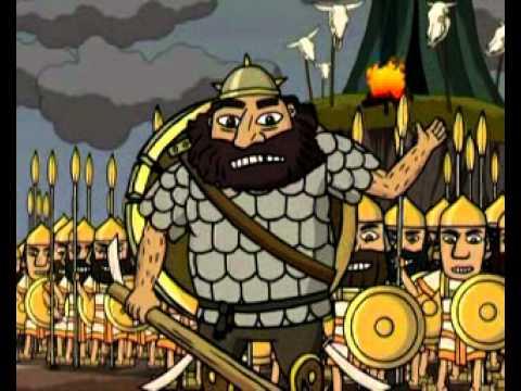Давид и Голиаф православный мультфильм