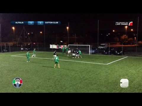 Alitalia Calcio 2-2 Cotton Club | Serie A - 4ª | Gol Parade
