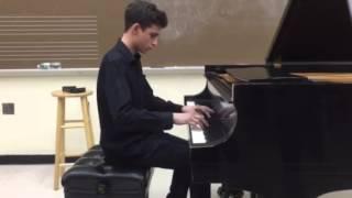 Adam Bernstein playing Chopin
